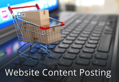 Website Content Posting